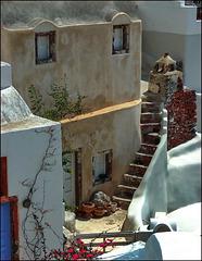 Santorini : La parte più antica di Oia - (1001)