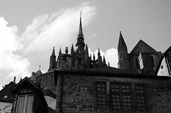 The Rooftops of Mont Saint Michel (xix)
