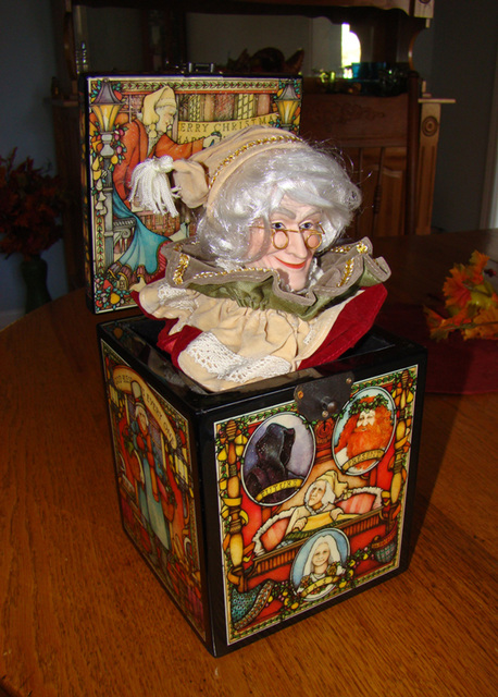 Christmas Music Box - Scrooge