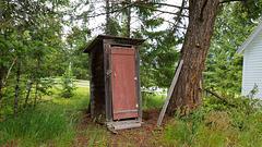 Outhouse.