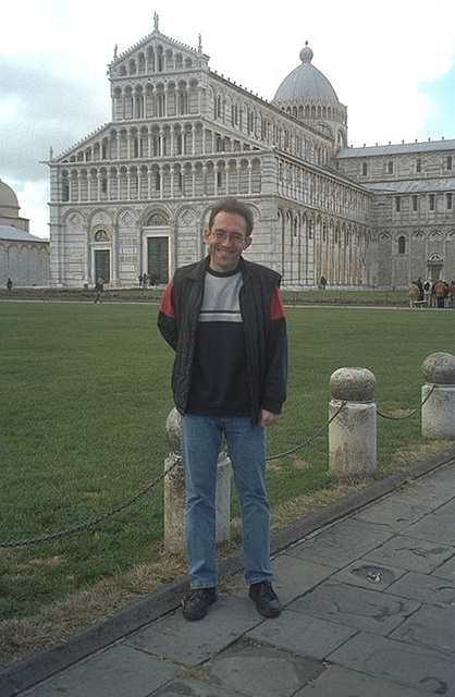 IT - Pisa - Vor dem Duomo