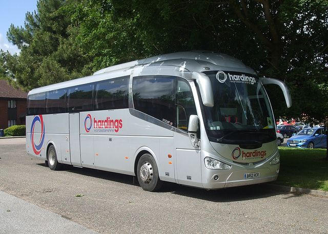 DSCF7584 Hardings Coaches of Droitwich BR12 HCR at Barton Mills - 9 Jun 2017