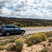 Our vehicle and New Mexico desert