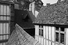 The Rooftops of Mont Saint Michel (xxii)