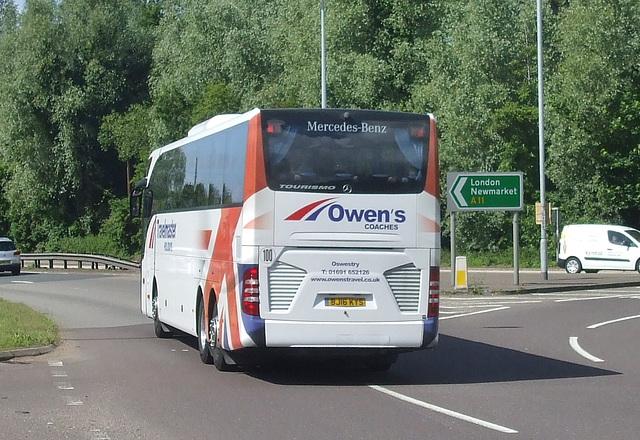 DSCF7568 Owen's of Oswestry BJ16 KYS at Barton Mills - 9 Jun 2017