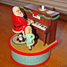 Santa playing a piano - music box
