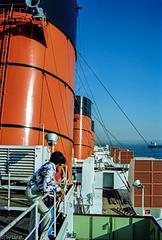 Threestacker - Queen Mary I in Long Beach 1980