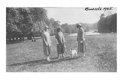 Marjory, Phyllis & Mrs Clarke - Brussels - 1925