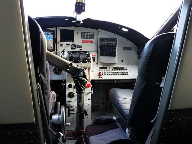 Turbo Otter Pilot's Office