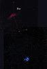Plejades and California nebula