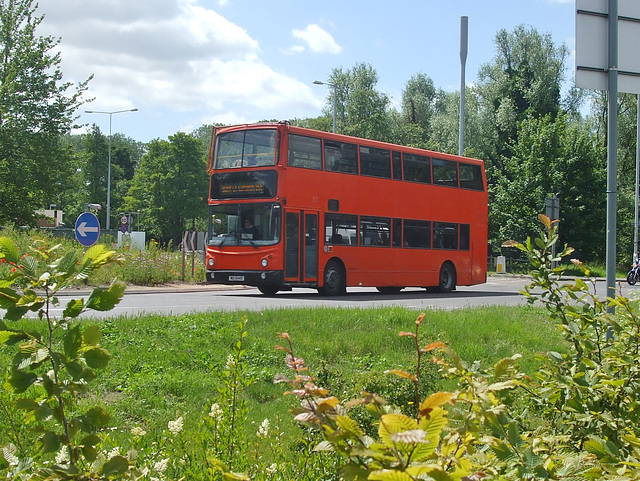 DSCF7587 Mulleys Motorways MUI 6449 (00D 70107, X56 XAW) at Barton Mills - 10 Jun 2017