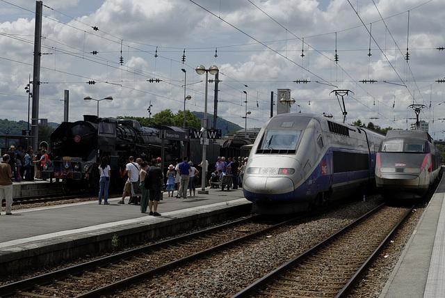 BESANCON: Passage de la 241P17 en gare Viotte 07