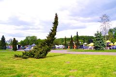 Schlesien Park in Chorzow Königshütte