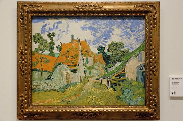 """""""Rue à Auvers-sur-Oise"""" (Vincent Van Gogh - 1890)"""