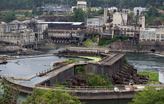 Willamette Falls Dam, Oregon City (#1504)