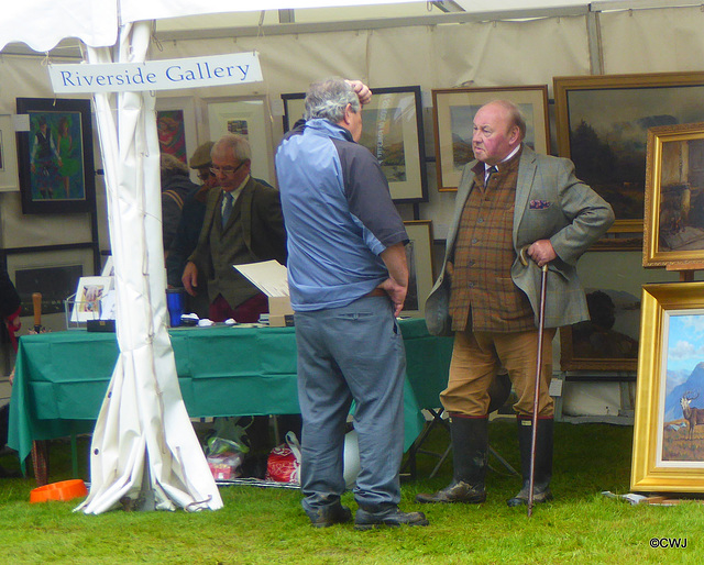 Faces in the crowd at Moy Game and Wildlife Fair 2017