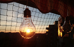 Sonnenuntergang mit PiPs