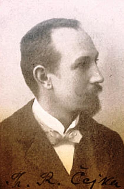 Teodoro Ĉejka (1878-1957) - nestoro de Esperanto-movado en Ĉeĥio
