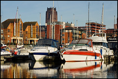 Unexpected Liverpool; marina, III