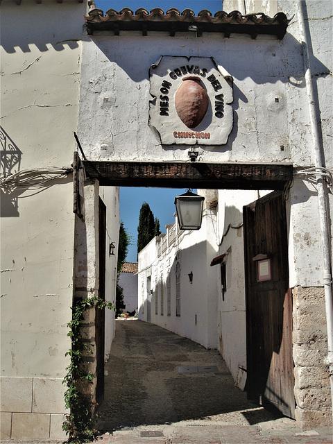 A Chinchón bodega (winery and cellars)