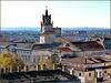 Avignon : il grand Hotel de Ville, la Torre dell'orologio e il Teatro Opera - lato sud .