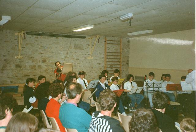 Concert à Bombon en 1993