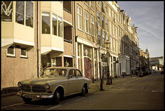 Old Volvos of Amsterdam I