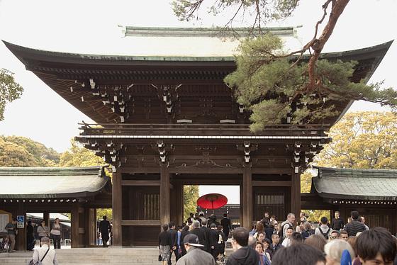 Meiji Jingu 01 - Minami Shinmon gate