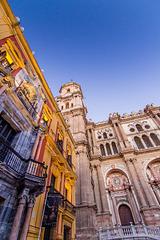 Spain - Málaga - Palacio Episcopal and Catedral de la Encarnación