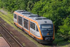 Siemens Desiro 642 326 von trilex in Doksy, Tschechien
