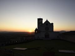 Tramonto alla Basilica