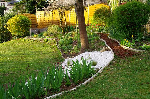 Petit matin au jardin !