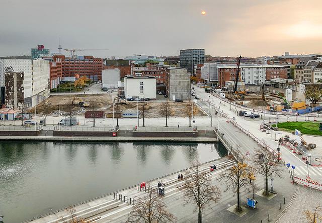 Kiel Bootshafen and Berliner Platz