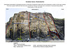 Druidston Haven: Cliff Section 5 interpretation