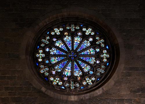 Spagna 2019 Figueres chiesa Sant Pere rosone