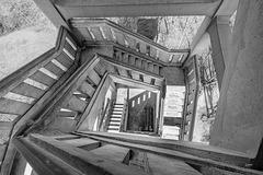 Ausichtsturm Ebersberg ++ Tower stairs