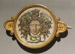 Brooch with the Head of Medusa in the Metropolitan Museum of Art, March 2018