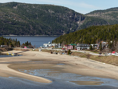 Day 6, part of Tadoussac, seen from up on the cliffs