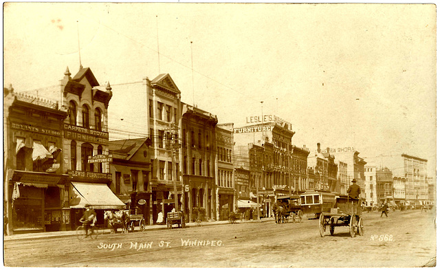 WP1885 WPG - SOUTH MAIN ST. (WEST SIDE - S. OF PORTAGE)