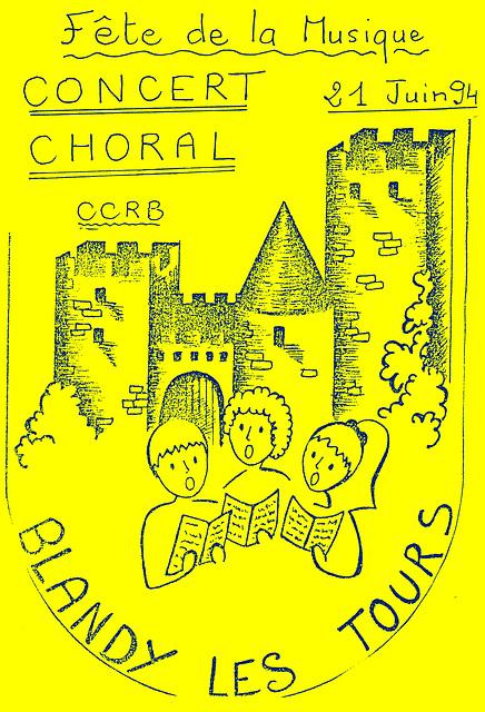Concert à Blandy-les-Tours le 21 juin 1994