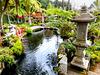 Wege und Brücken im asiatischen Wassergarten. ©UdoSm