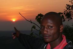 Coucher du soleil en Tanzanie