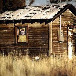 Pump house ruin