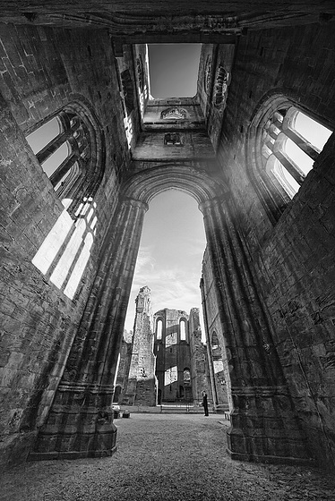 wide angle tower view