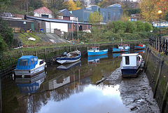 Luxury Boating On The Ouseburn. Byker
