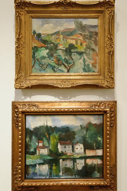 """""""Paysages"""" (Maurice de Vlaminck - 1912 et 1919)"""
