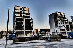 Abriss der City Hochhäuser