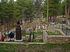 Calamity Jane's burial plot.