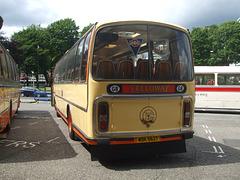 DSCF0532  Preserved Yelloway WDK 562T outside Rochdale Town Hall