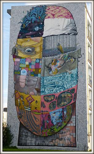 ** Fresque à Brest **